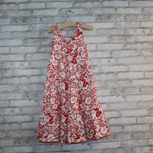 CHAPS Little Girl's Summer Dress Floral FULL SKIRT